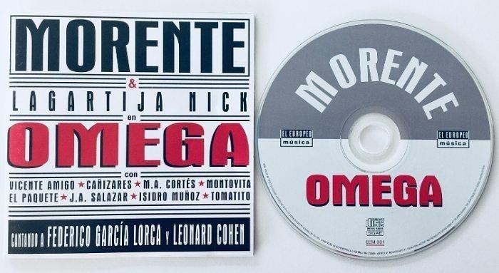 Disco OMEGA de Morente y Lagartija Nick