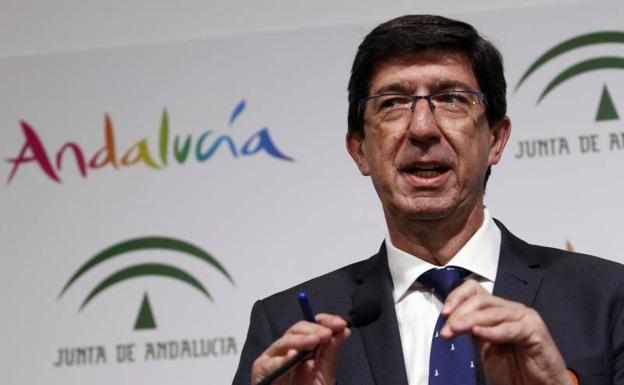 Vicepresidente de la Junta de Andalucía | EUROPA PRESS