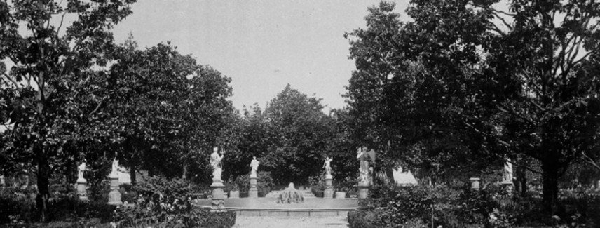 El jardín francés del Carmen de los Mártires