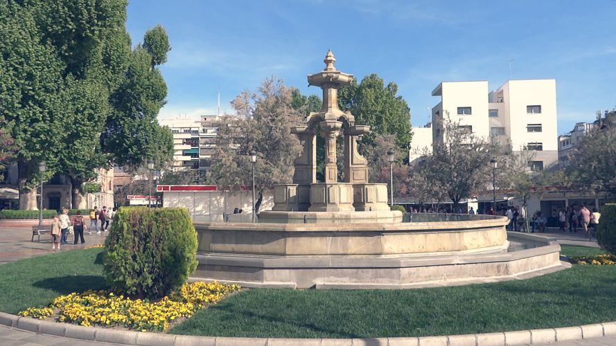 Fuente de las Batallas. Plaza del Campillo.