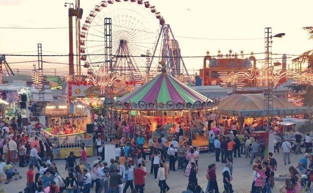 Feria de Granada en el Paseo del Violón