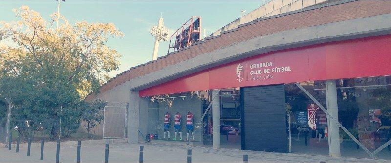 Tienda Oficial del equipo en el nuevo Estadio de Los Cármenes