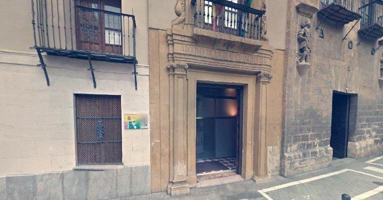 Casa natal del Padre Suárez en la calle Pavaneras, junto a la Casa de los Tiros