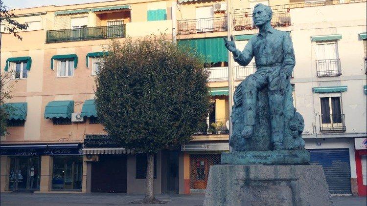 Monumento a Agustin Lara en Granada