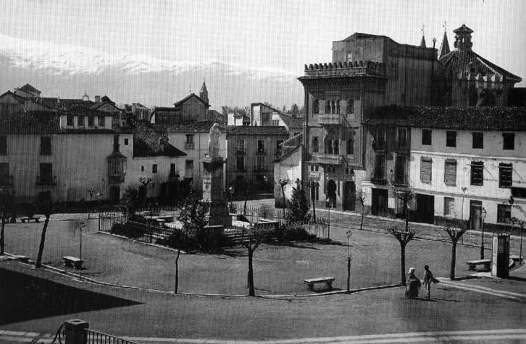 Plaza de Mariana Pineda en 1893
