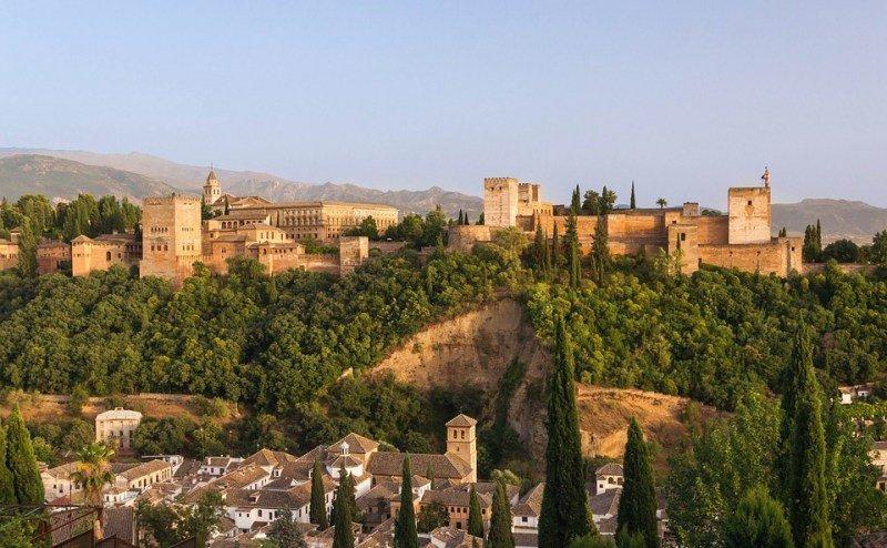 El Tajo de San Pedro, Alhambra, Granada
