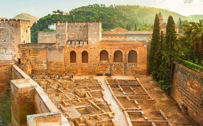 La Alcazaba de la Alhambra, Granada