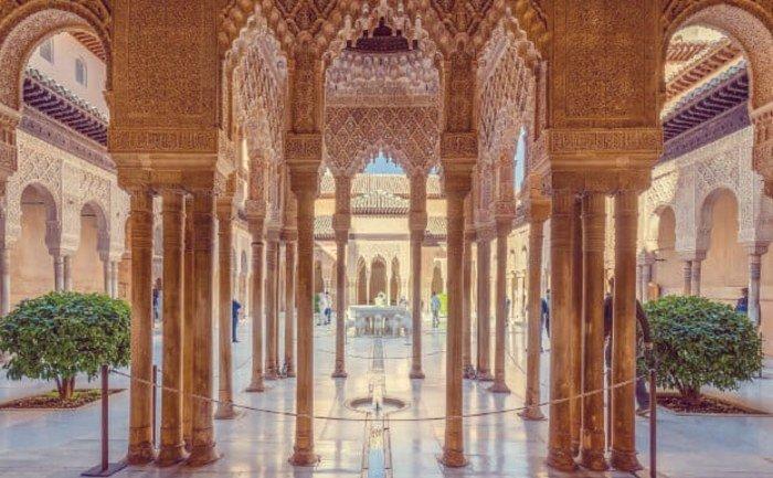 Los Palacios Nazaríes de la Alhambra, Granada
