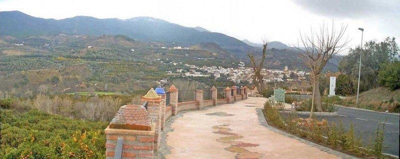 Mirador de Melegis Valle de Lecrin Granada