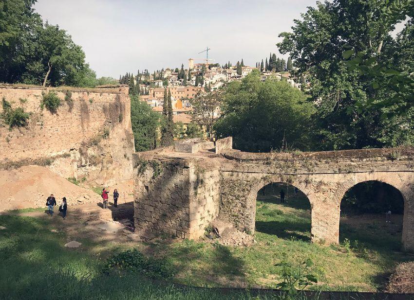 Paseo de Romayla en obras