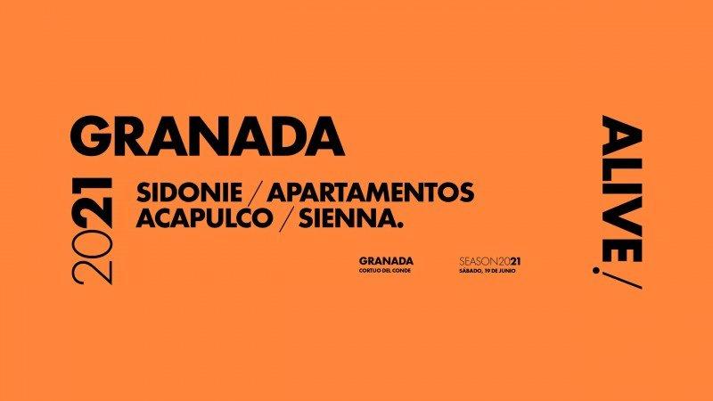 Sidonie, Apartamentos Acapulco y Sienna en Granada Alive