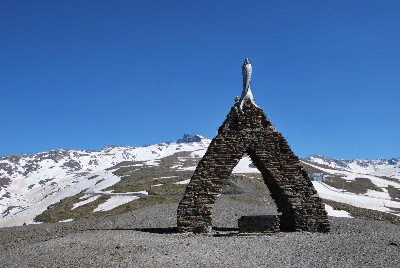 Virgen de las Nieves en Sierra Nevada Granada