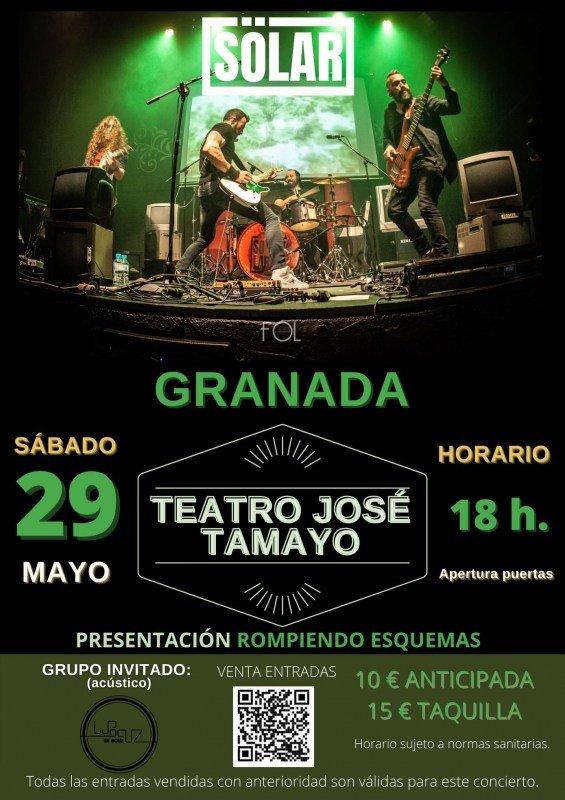 concierto solar teatro jose tamayo