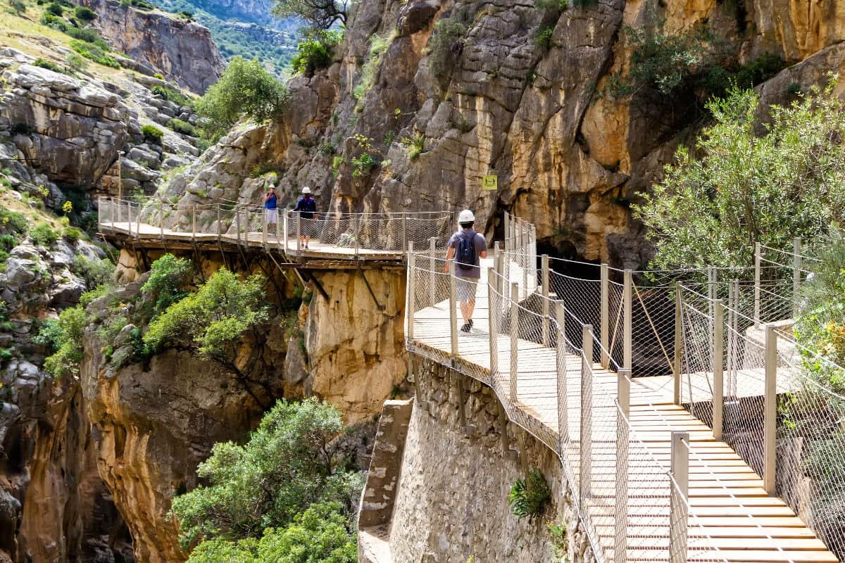 Excursión al Caminito del Rey desde Granada