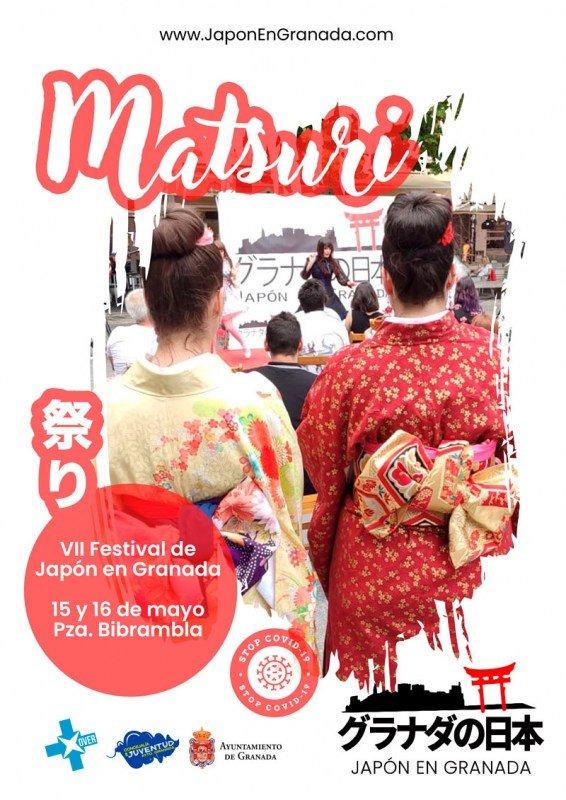 Matsuri de Japón en Granada 2021