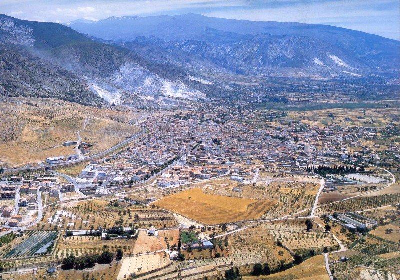 Vista aérea del Padul