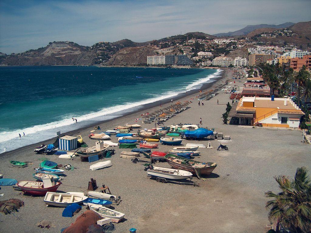 Playa de La Herradura (Almuñécar)