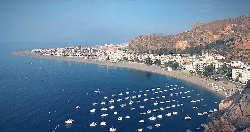 Playas en Granada. Playa de la Calahonda (Motril)