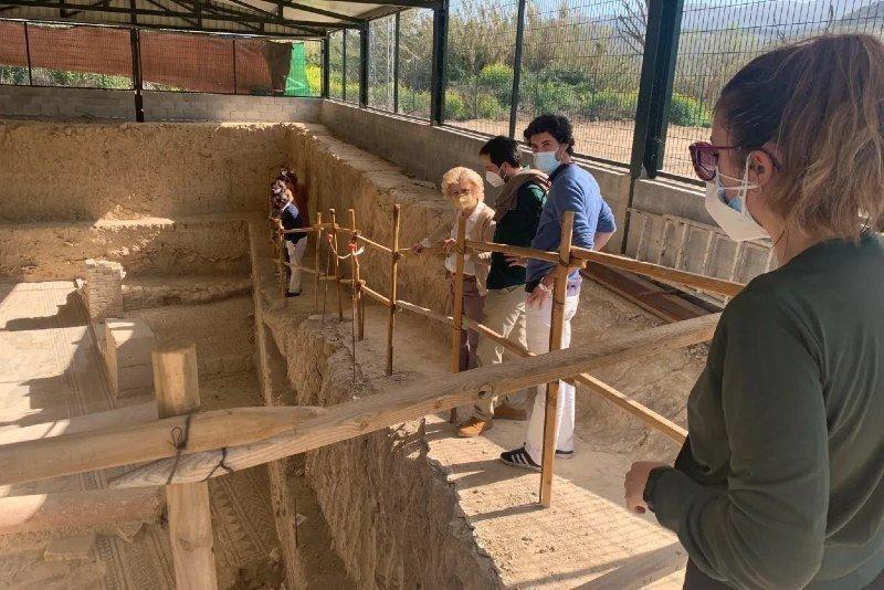 Villa Romana de Salar Granada excavaciones