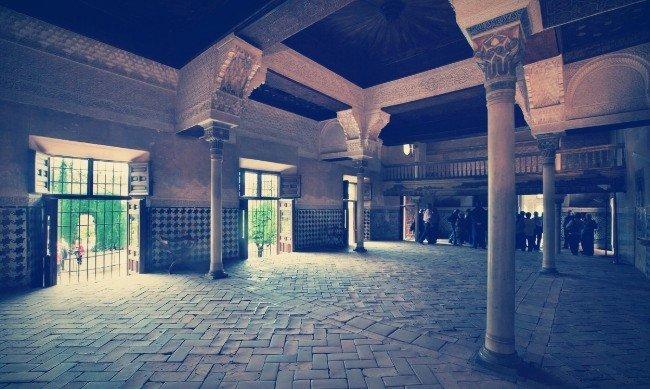 Interior de la Sala del Mexuar, Alhambra