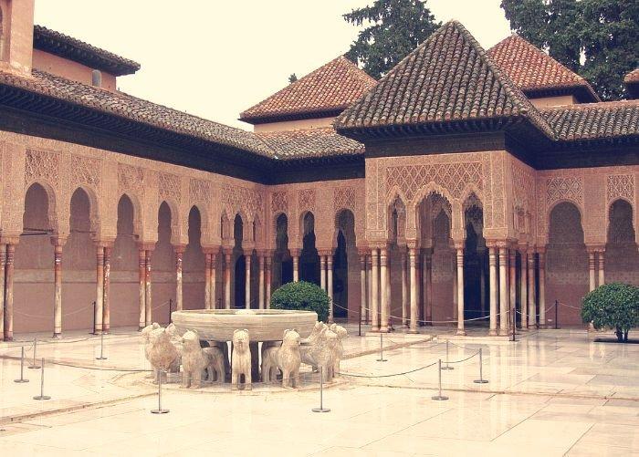 El Patio de los Leones, Alhambra